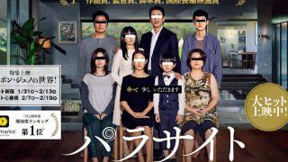 韓国映画『パラサイト 半地下の家族』無料で動画を観る方法!アイキャッチ画像